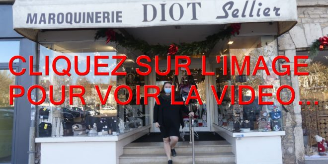 2020 / 01 VIDEO ET 130 PHOTOS / LA VISITE GUIDEE EN 03 EPISODES AVEC MARIE-FRANCE DIOT DE LA MAROQUINERIE DIOT SELLIER A BEAUNE…