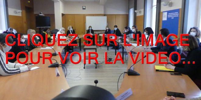 2021 / LA VIDEO / PRELUDE DE LA VISITE DE ELISABETH MORENO MINISTRE DELEGUEE AUPRES DU PREMIER MINISTRE CHARGEE DE L'EGALITE ENTRE LES FEMMES ET LES HOMMES DE LA DIVERSITE ET DE L'EGALITE DES CHANCES…