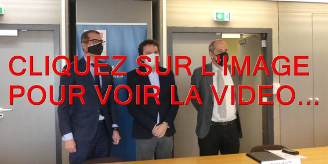 2021 / 01 VIDEO ET 20 PHOTOS / SIGNATURE DU PROTOCOLE ENTRE LE TRIBUNAL JUDICIAIRE ET L'ASSOCIATION DES MAIRES DE COTE D'OR...
