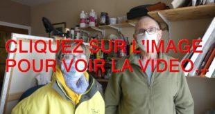 2021 / 01 VIDÉO ET 26 PHOTOS / VALERIE GUILLOTTE DE L'AFM TELETHON NOUS PRESENTE LE PEINTRE JEAN-MICHEL WOSINSKI...
