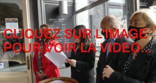 2021 / 01 VIDEO ET 09 PHOTOS / LANCEMENT DE LA 6EME EDITION DU BRUNCH DES HALLES DE DIJON AVEC NADJOUA BELHADEF ET SLADANA ZIVKOVIC POUR LA MAIRIE DE DIJON...
