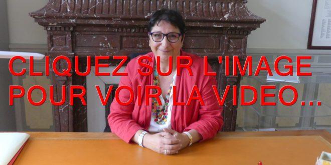 2021 / 01 VIDÉO / VOIX DE FEMME...EMMANUELLE COINT, UNE FEMME DE COEUR, UNE ELUE...