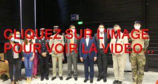 2021 / 02 VIDÉOS ET 38 PHOTOS / INAUGURATION DU NOUVEAU CENTRE DE VACCINATION DE GRANDE CAPACITE AU MULTIPLEX DE L'UNIVERSITE DE DIJON...