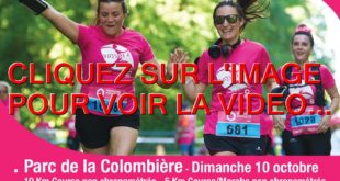 2021 / LA VIDEO POUR ODYSSEA ENSEMBLE CONTRE LE CANCER DU SEIN LE DIMANCHE 10 OCTOBRE 2021 AU PARC DE LA COLOMBIERE A DIJON...