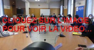 2021 / LA VIDEO / PRELUDE DE LA VISITE DE ELISABETH MORENO MINISTRE DELEGUEE AUPRES DU PREMIER MINISTRE CHARGEE DE L'EGALITE ENTRE LES FEMMES ET LES HOMMES DE LA DIVERSITE ET DE L'EGALITE DES CHANCES...