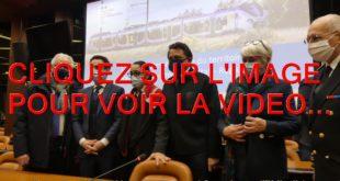 2021 / 01 VIDEO ET 26 PHOTOS / DEPLACEMENT DE JEAN-BAPTISTE DJEBBARI MINISTRE DELEGUE CHARGE DES TRANSPORTS POUR LA SIGNATURE D'UN ACCORD CONCERNANT 14 PETITES LIGNES FERROVIAIRES DE LA REGION...