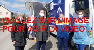 2021 / 02 VIDEOS ET 50 PHOTOS / 198 PERSONNES VACCINEES EN UNE JOURNEE AVEC LA PROTECTION CIVILE ET LEUR VACCINOBUS A CHEVIGNY-SAINT-SAUVEUR...