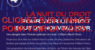 2021 / 01 VIDÉO ET 74 PHOTOS / LA 4EME ÉDITION DE LA NUIT DU DROIT A TALANT AVEC L'AFFAIRE ALBERT PRINCE...POUR VOIR LE DROIT SOUS UN AUTRE JOUR...