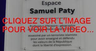 2021 / 01 VIDÉO ET 26 PHOTOS / COMMEMORATION DE L'ASSASSINAT DE SAMUEL PATY...1 AN APRES...